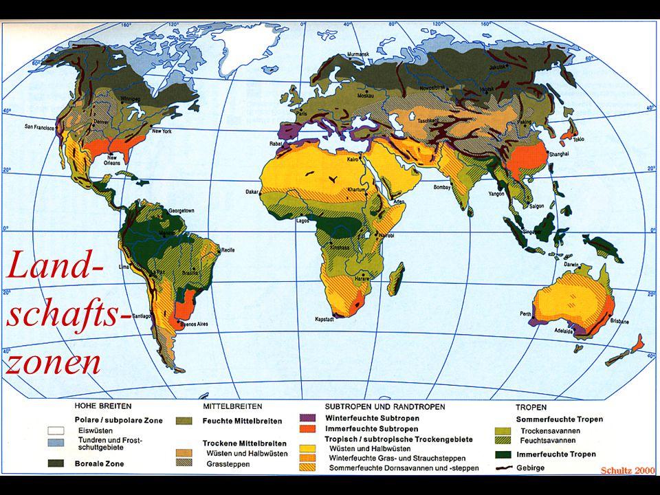 Land- schafts- zonen