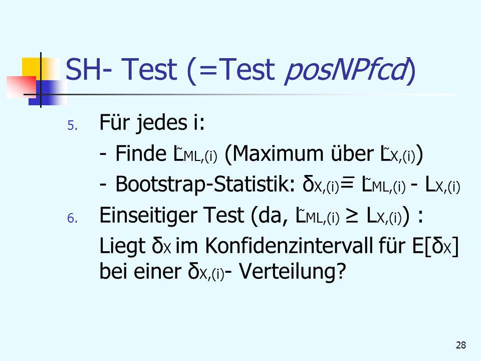 SH- Test (=Test posNPfcd)