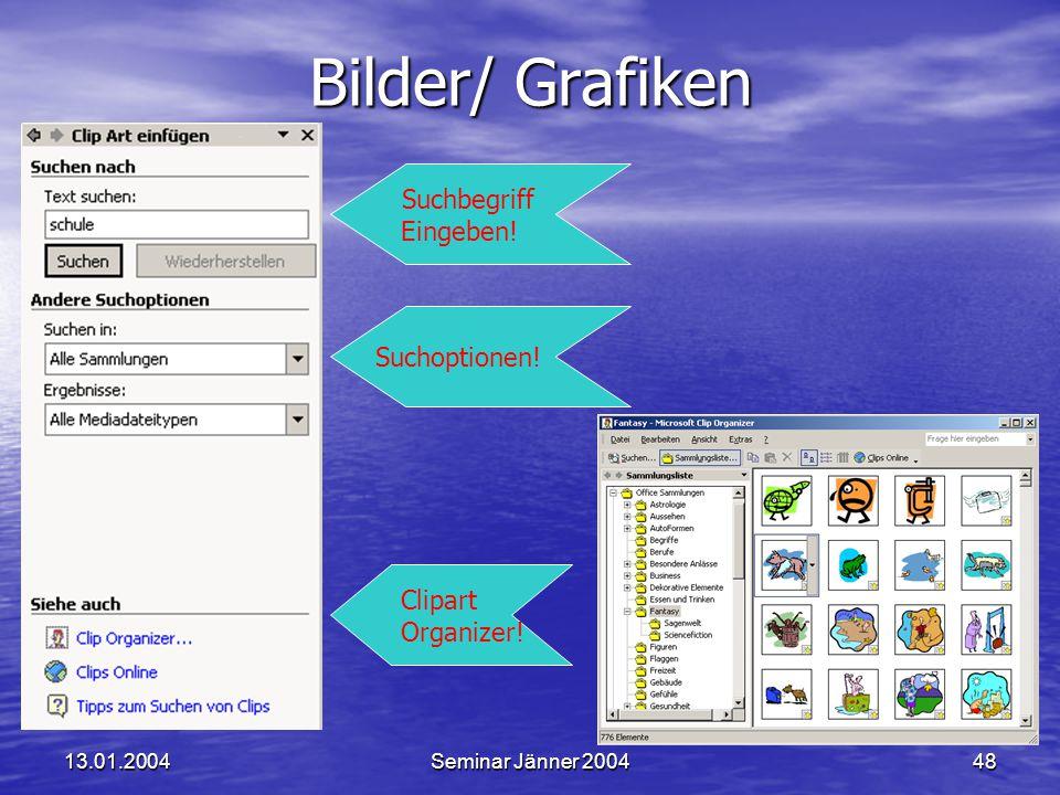 Bilder/ Grafiken Suchbegriff Eingeben! Suchoptionen! Clipart