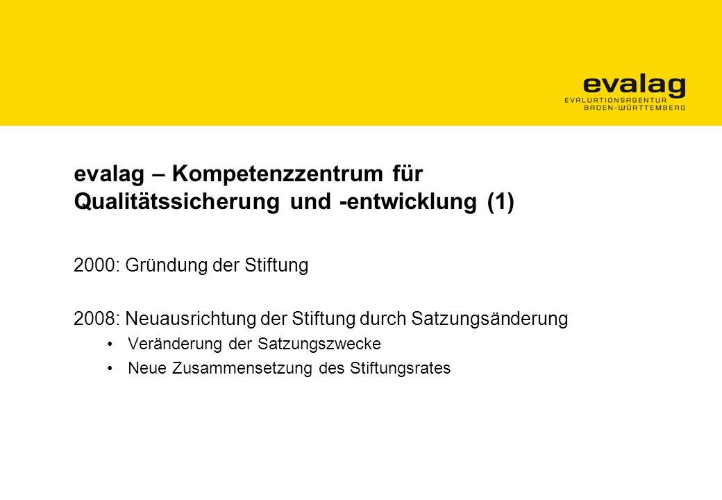 evalag – Kompetenzzentrum für Qualitätssicherung und -entwicklung (1)
