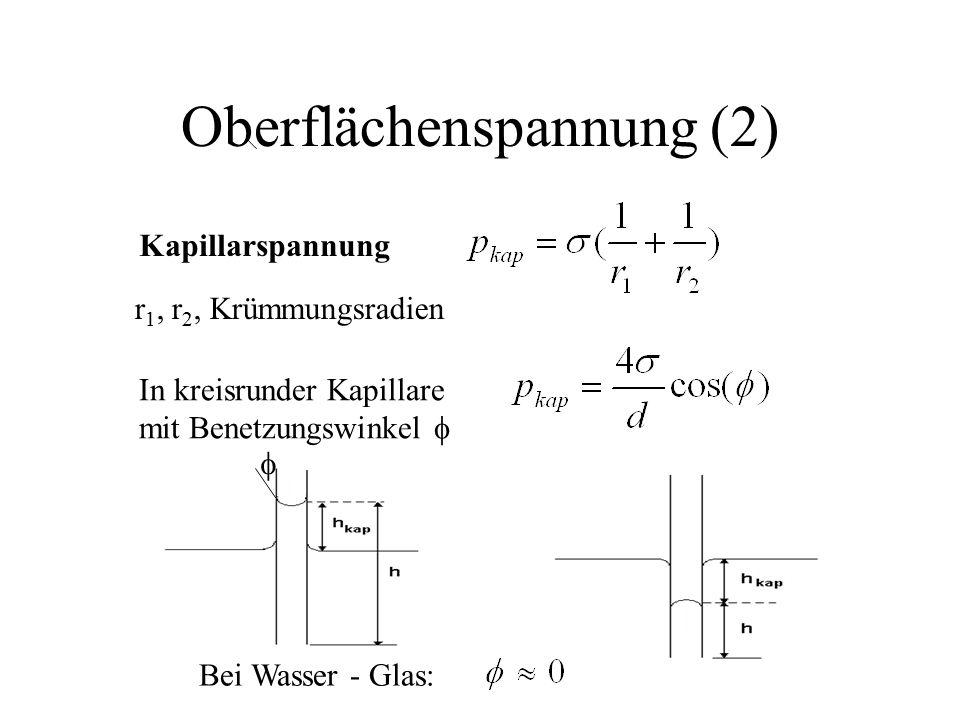 Oberflächenspannung (2)