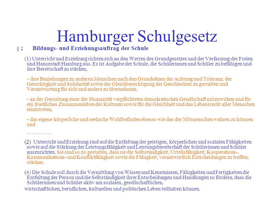 Hamburger Schulgesetz