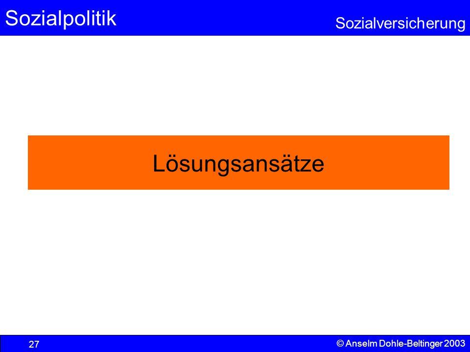 Lösungsansätze © Anselm Dohle-Beltinger 2003