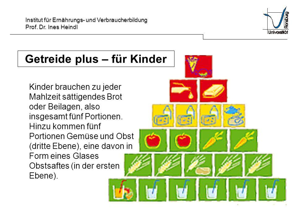 Getreide plus – für Kinder