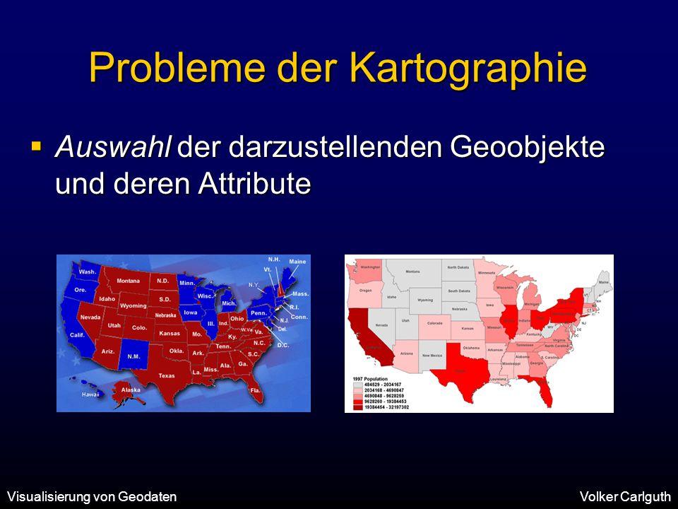 Probleme der Kartographie