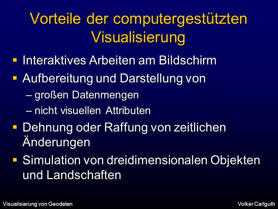 Vorteile der computergestützten Visualisierung