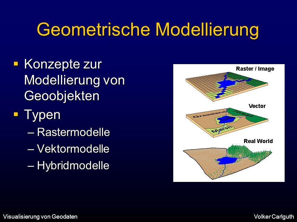 Geometrische Modellierung