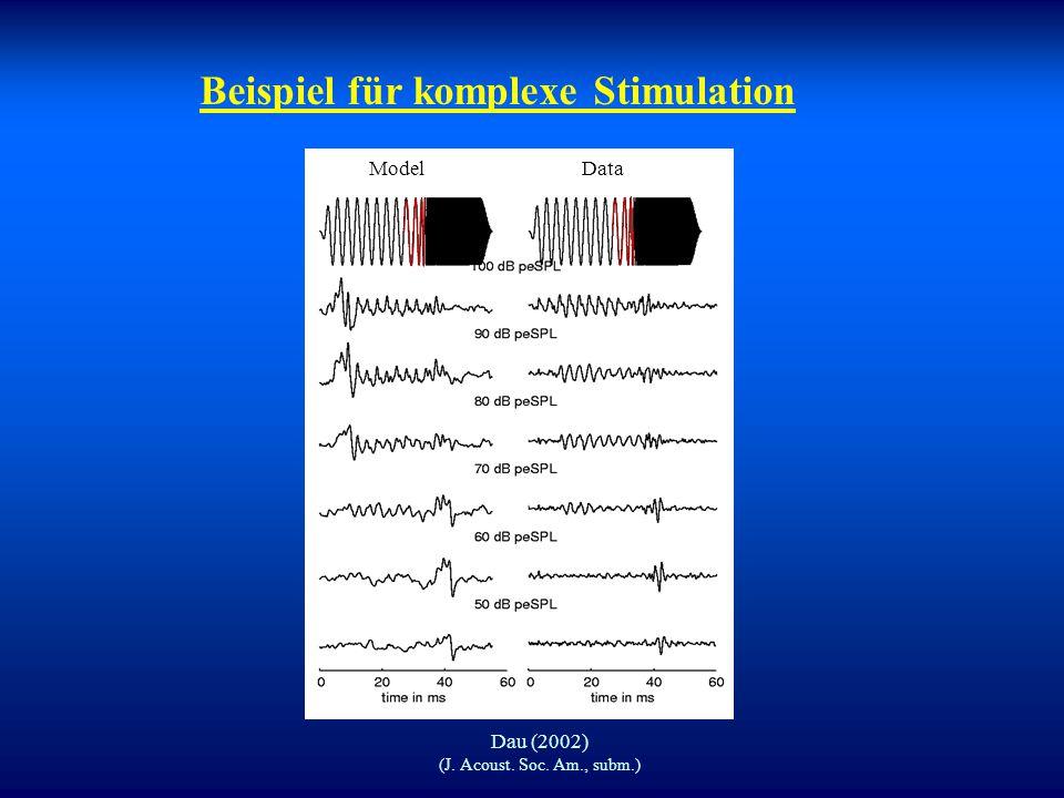 Beispiel für komplexe Stimulation