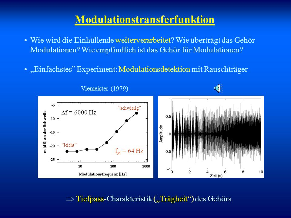 Modulationstransferfunktion