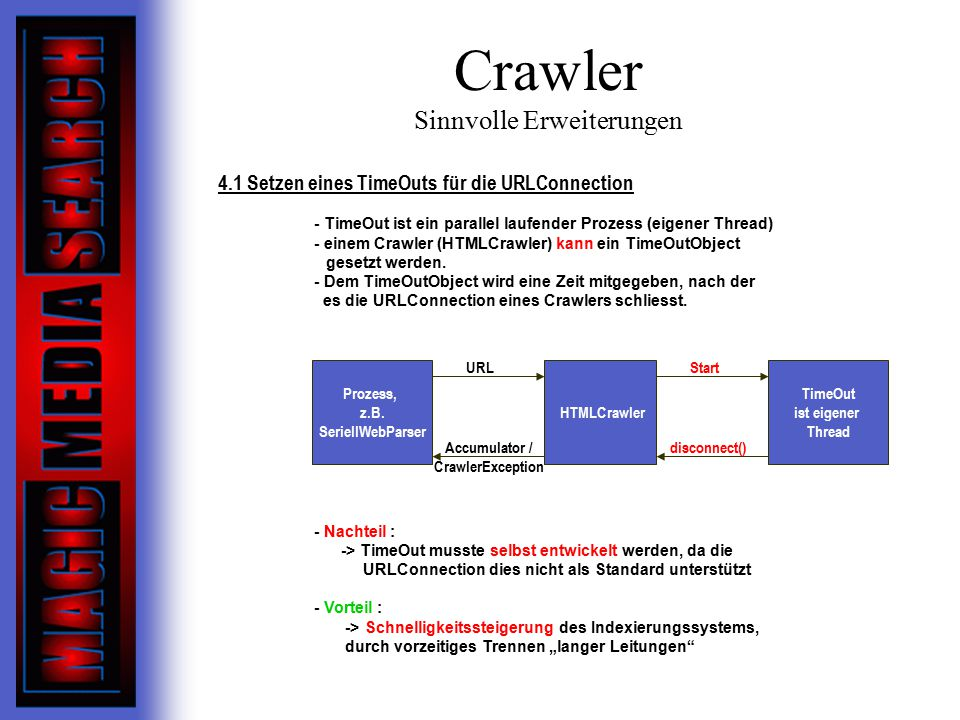 Crawler Sinnvolle Erweiterungen