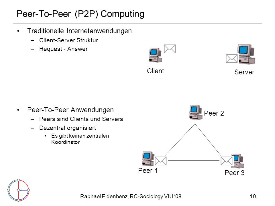 Peer-To-Peer (P2P) Computing