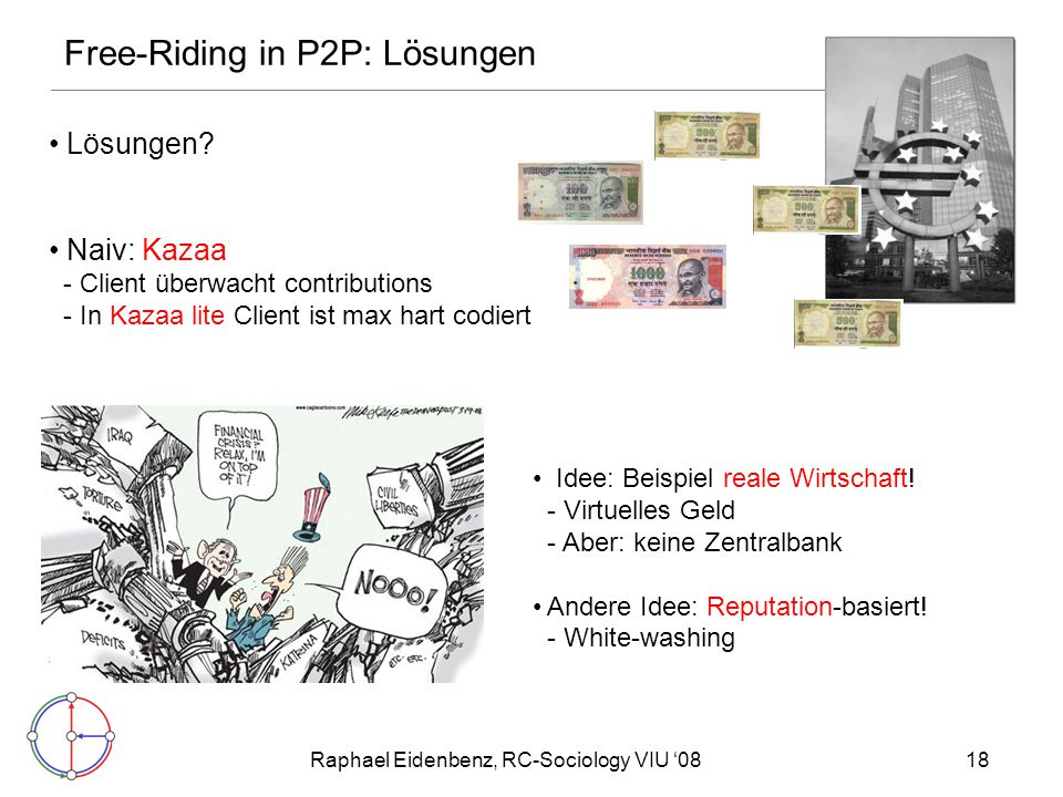 Free-Riding in P2P: Lösungen