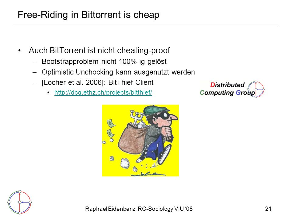 Free-Riding in Bittorrent is cheap