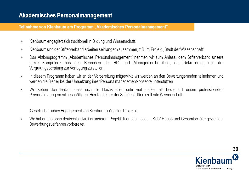Akademisches Personalmanagement