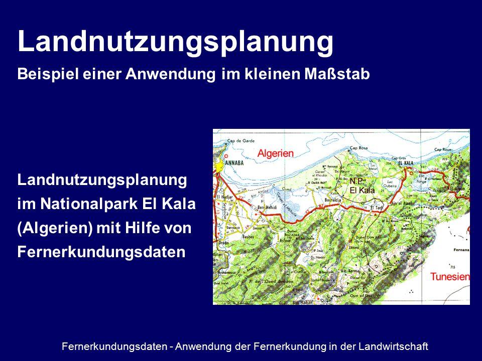 Landnutzungsplanung Beispiel einer Anwendung im kleinen Maßstab