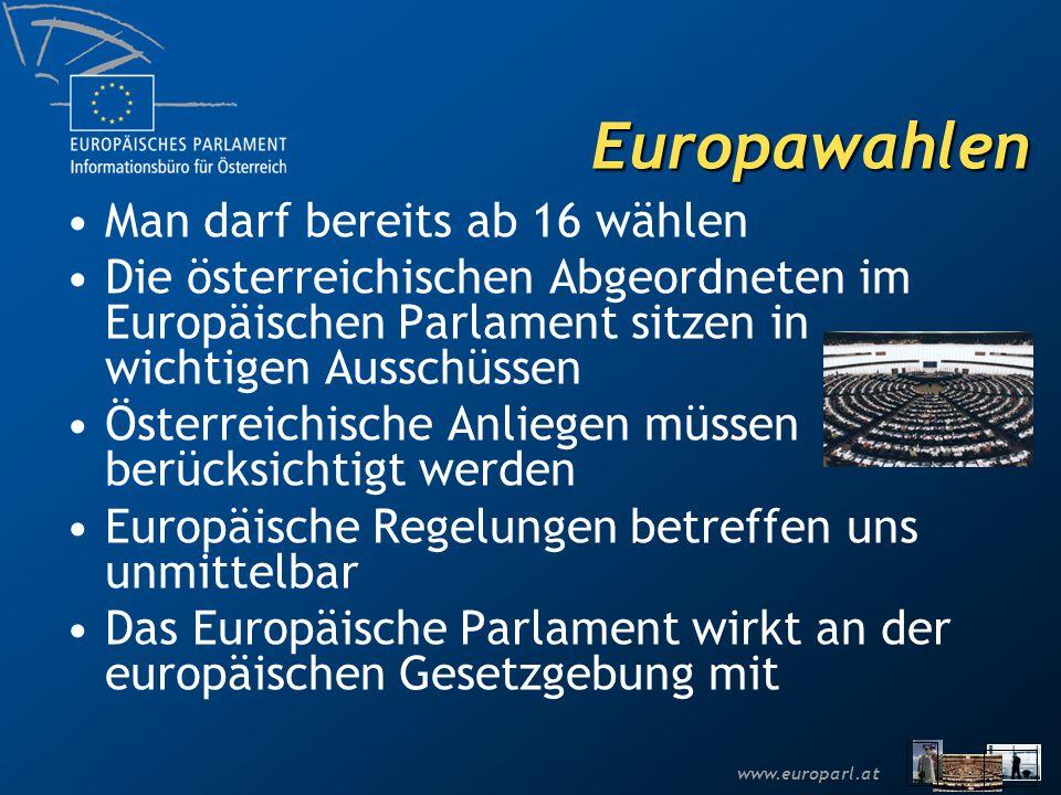 Europawahlen Man darf bereits ab 16 wählen