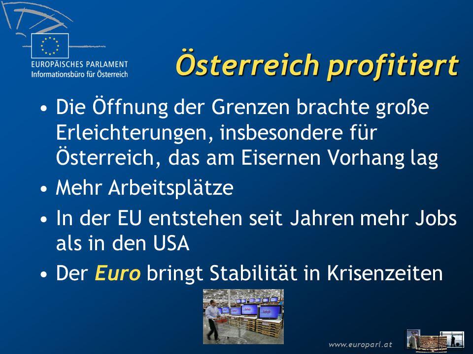 Österreich profitiert