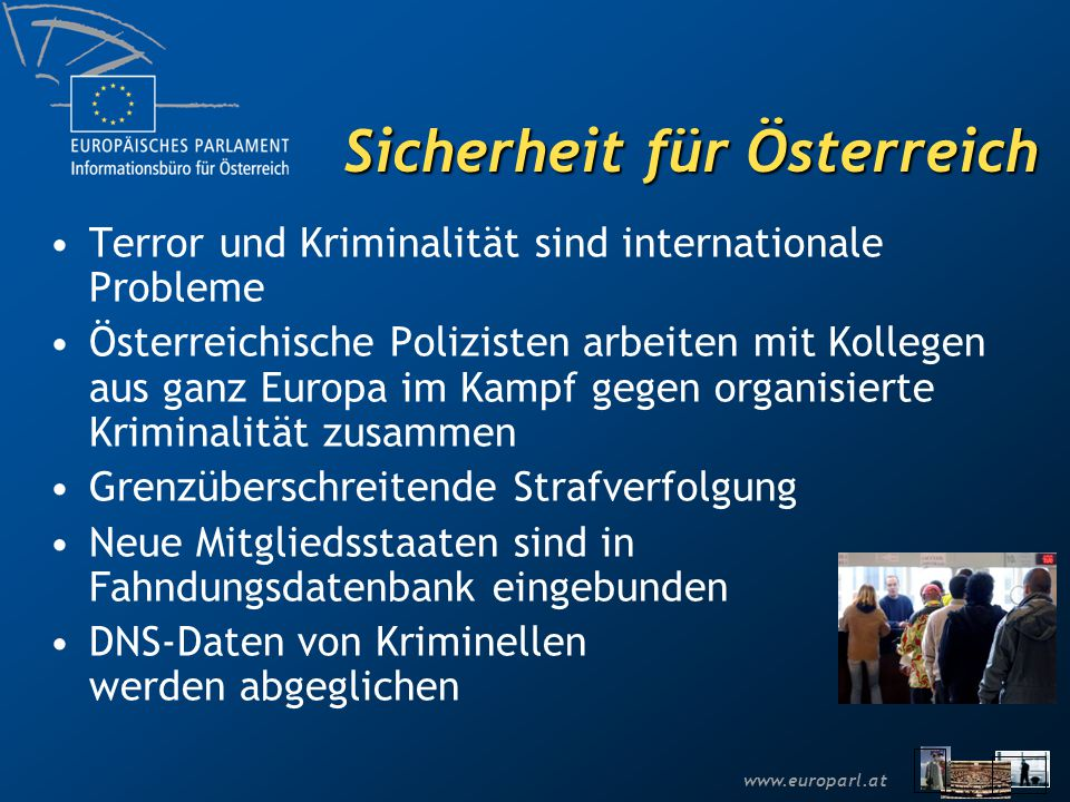 Sicherheit für Österreich