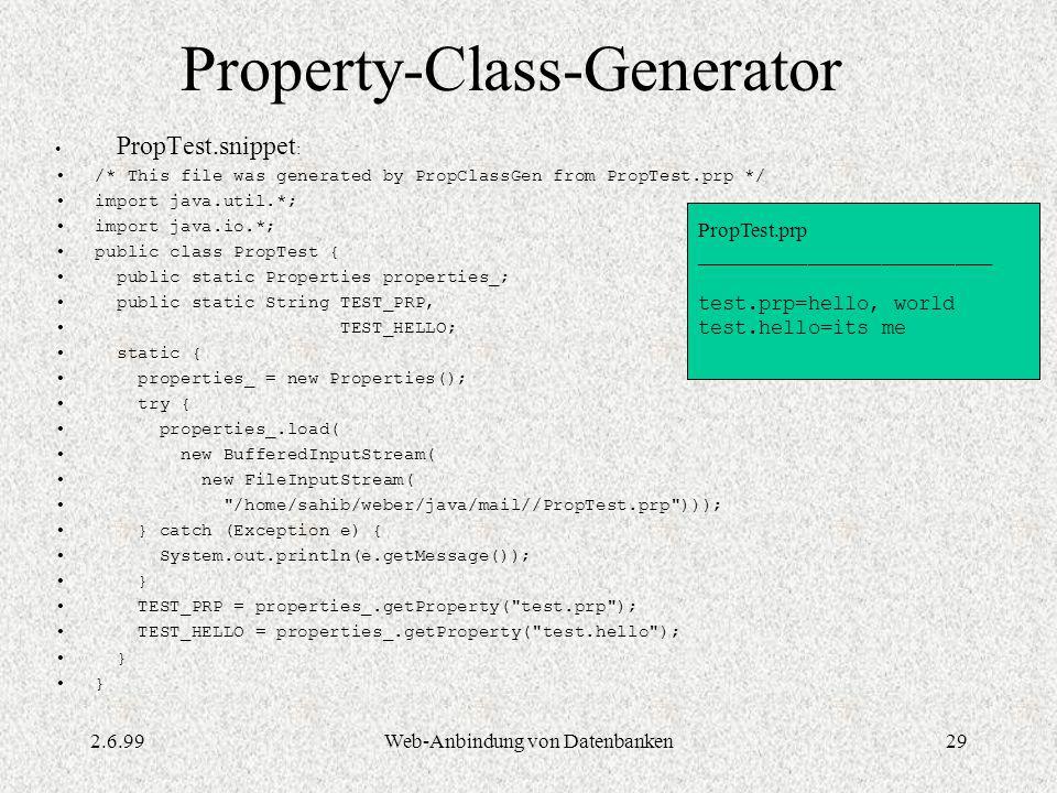Property-Class-Generator