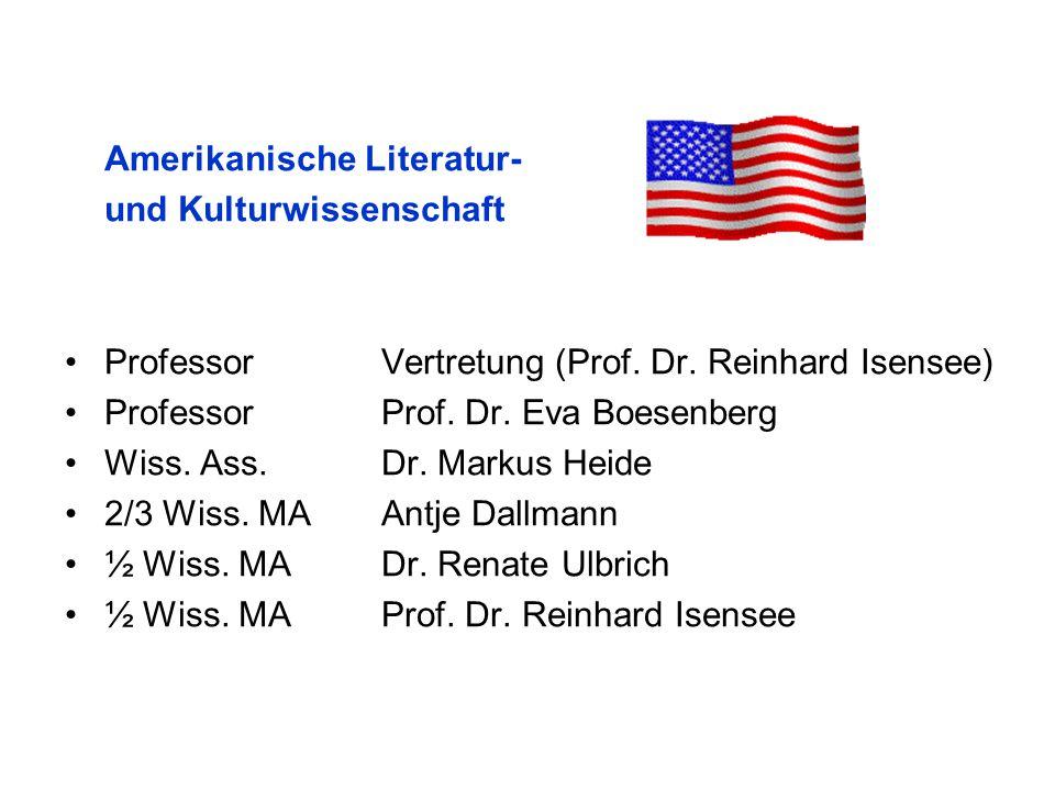 Amerikanische Literatur-