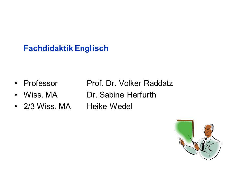 Fachdidaktik Englisch