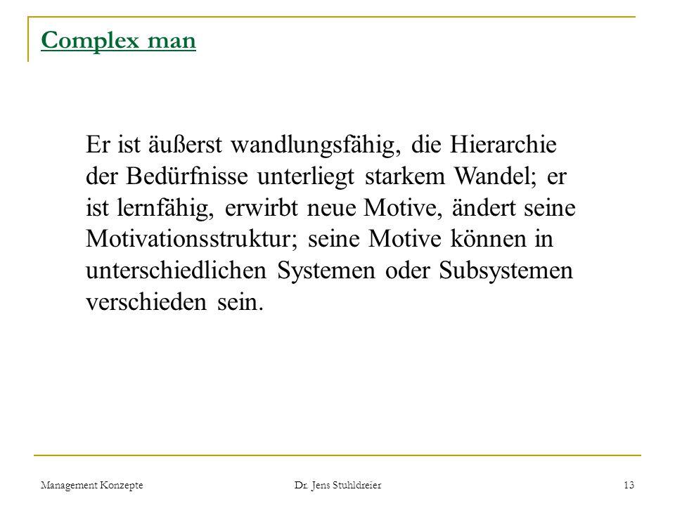 Complex man