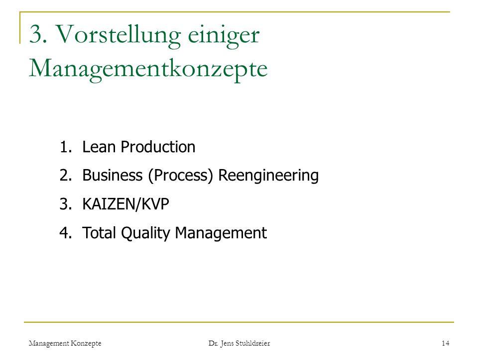 3. Vorstellung einiger Managementkonzepte