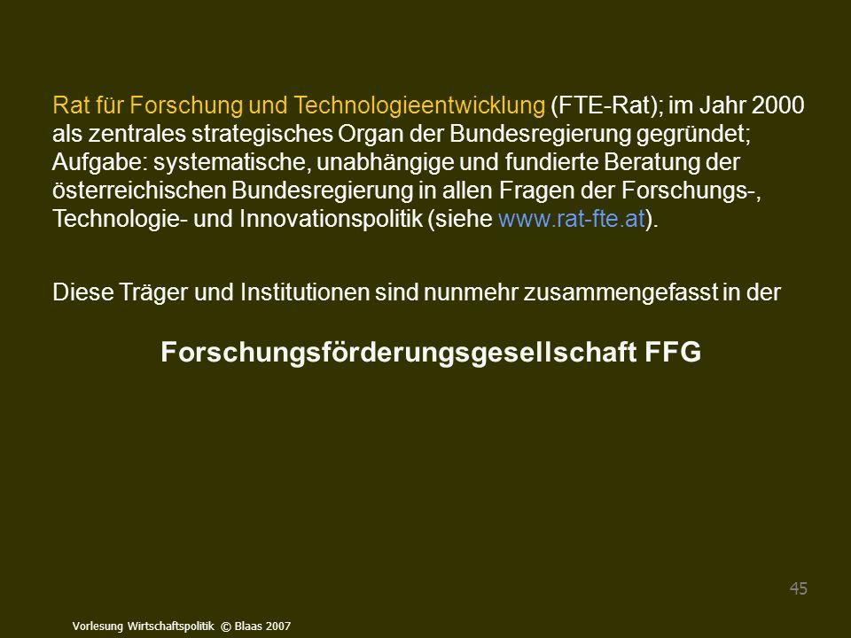 Forschungsförderungsgesellschaft FFG