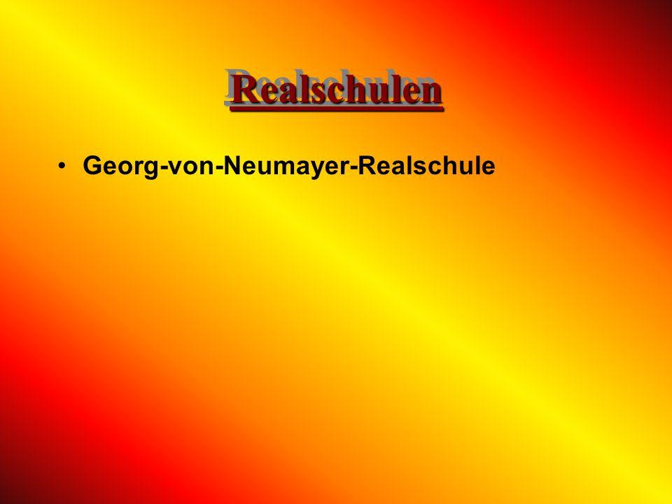 Realschulen Georg-von-Neumayer-Realschule