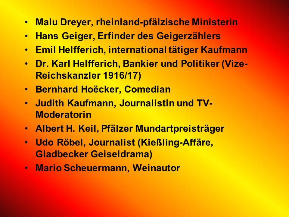 Malu Dreyer, rheinland-pfälzische Ministerin