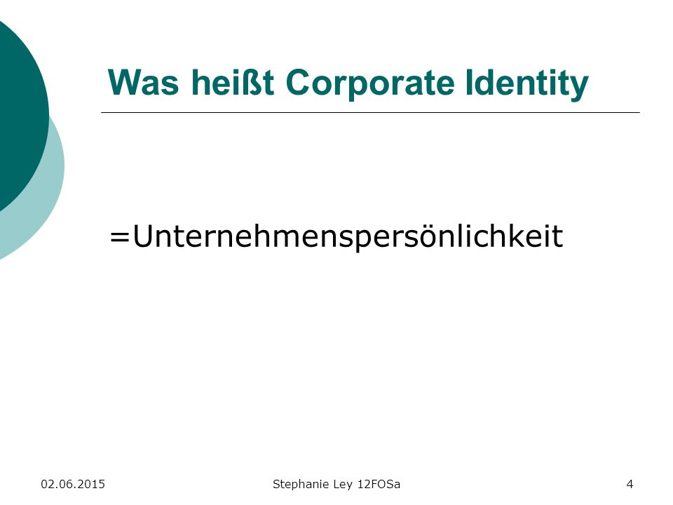 Was heißt Corporate Identity