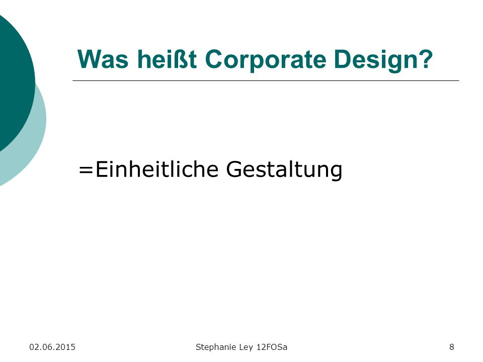 Was heißt Corporate Design
