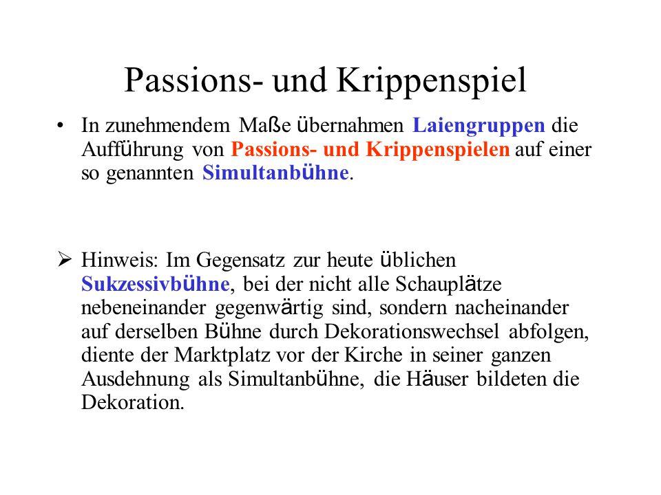 Passions- und Krippenspiel