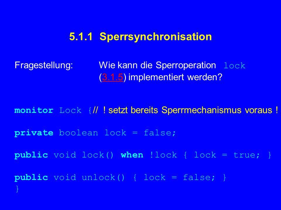 5.1.1 Sperrsynchronisation