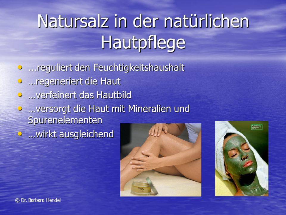 Natursalz in der natürlichen Hautpflege