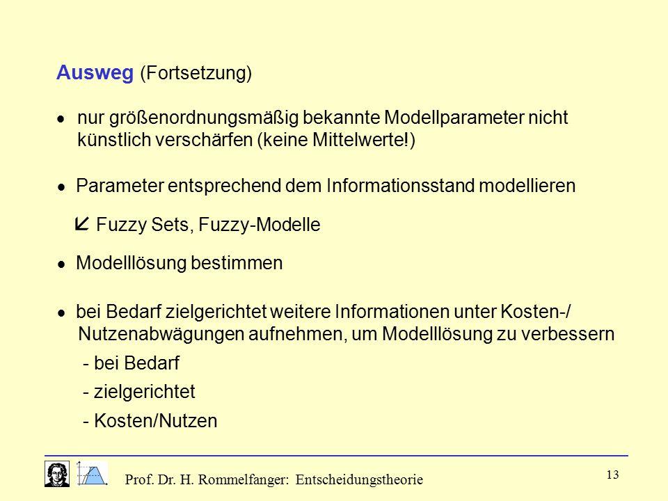  Fuzzy Sets, Fuzzy-Modelle