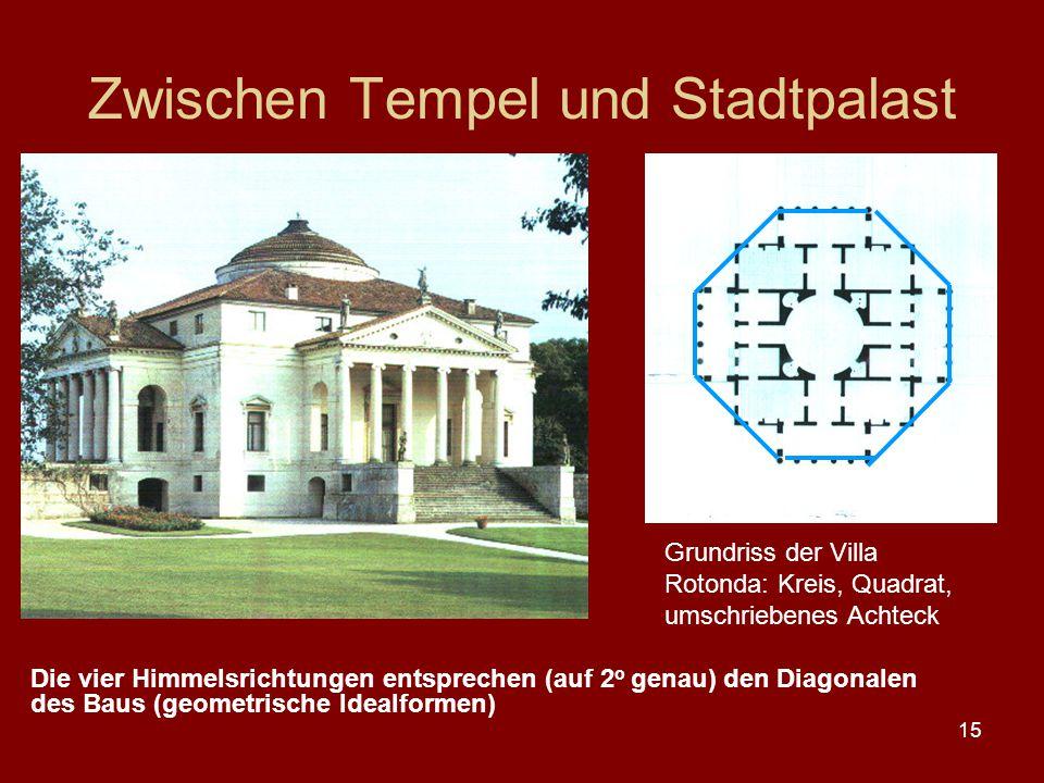 Zwischen Tempel und Stadtpalast