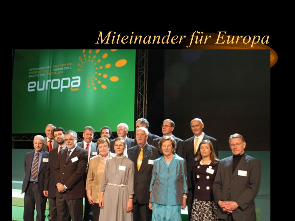 Miteinander für Europa
