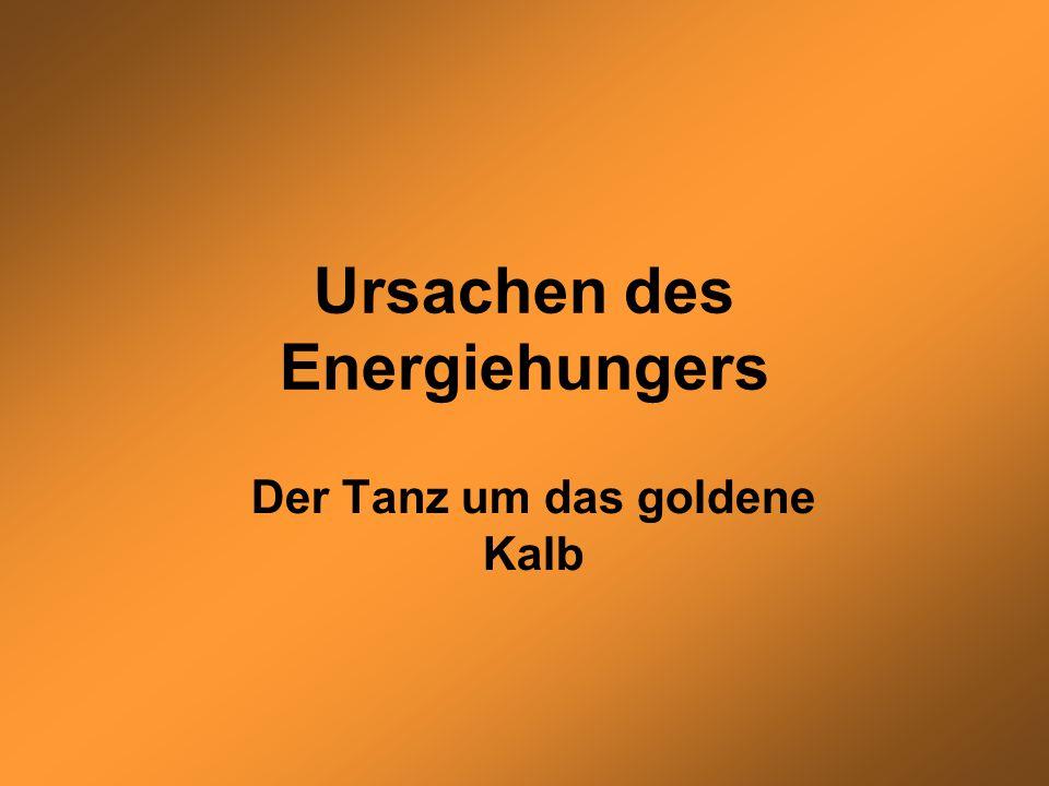 Ursachen des Energiehungers