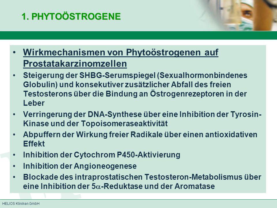 Wirkmechanismen von Phytoöstrogenen auf Prostatakarzinomzellen