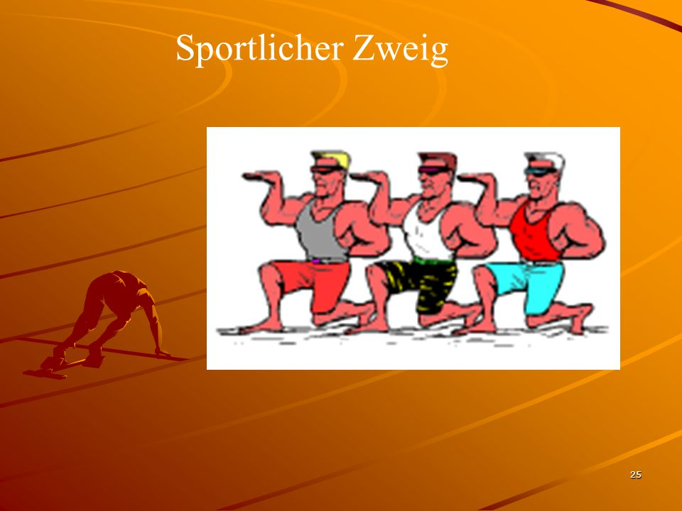 Sportlicher Zweig