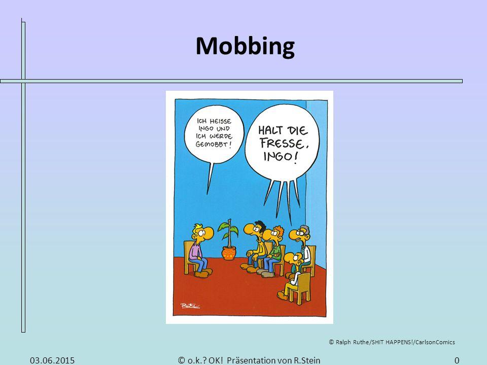 Mobbing Gliederung Was ist Mobbing Ursachen von Mobbing