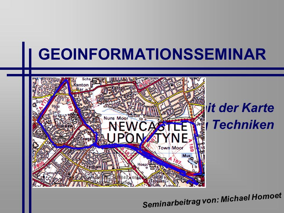 GEOINFORMATIONSSEMINAR