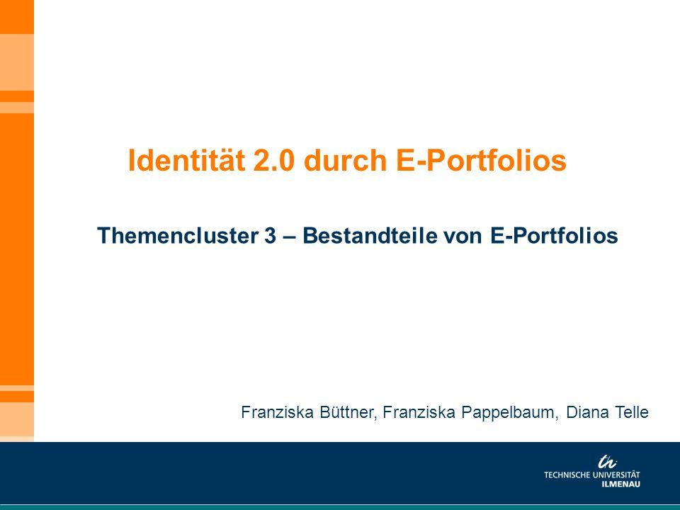 Identität 2.0 durch E-Portfolios
