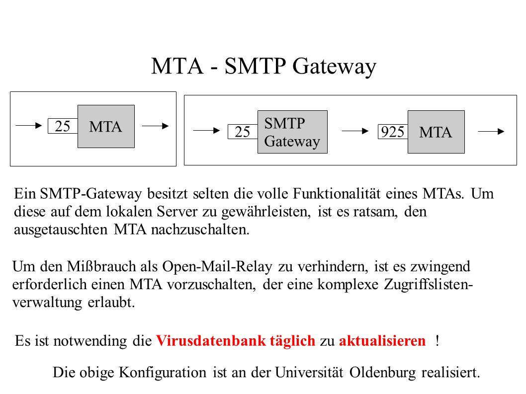 Die obige Konfiguration ist an der Universität Oldenburg realisiert.