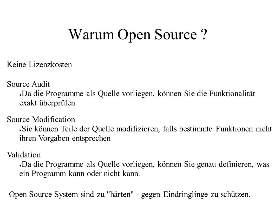Warum Open Source Keine Lizenzkosten Source Audit