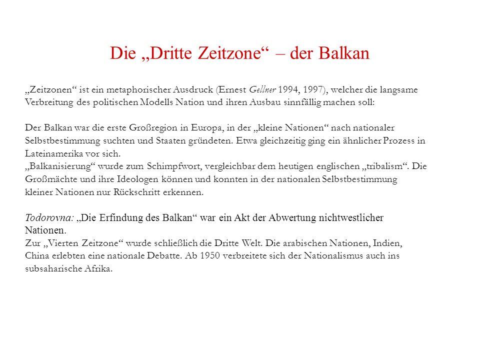 """Die """"Dritte Zeitzone – der Balkan"""