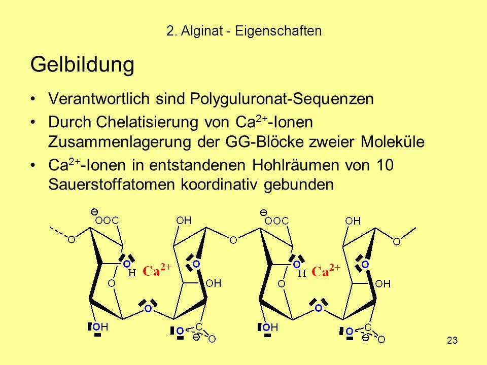 2. Alginat - Eigenschaften