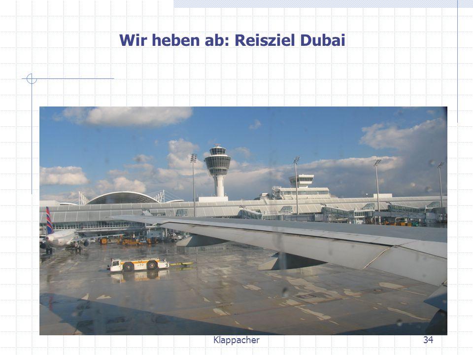 Wir heben ab: Reisziel Dubai