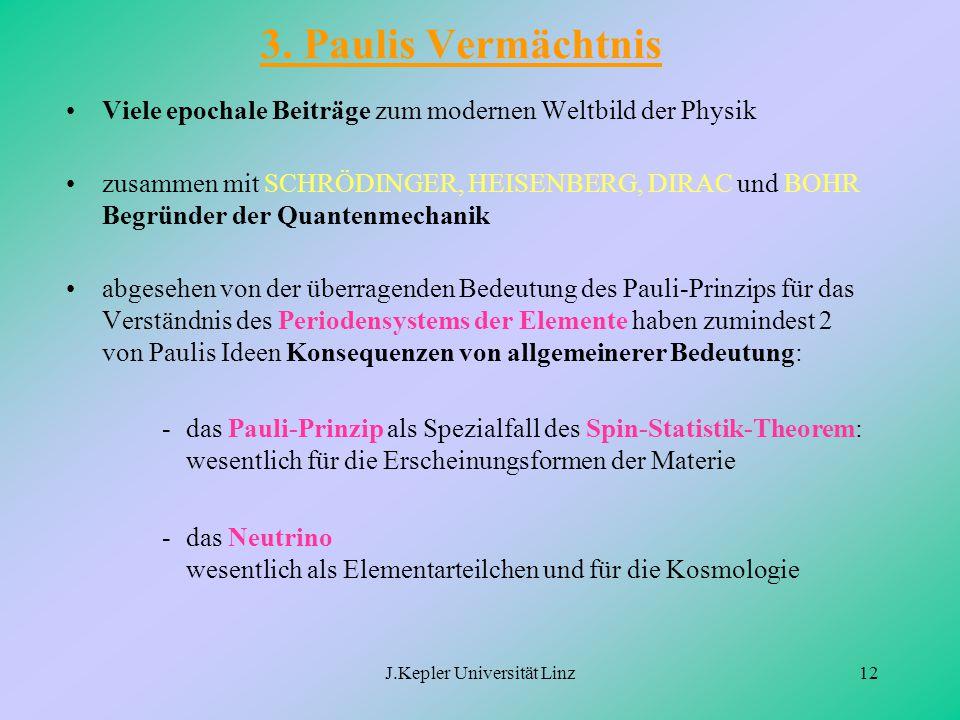 J.Kepler Universität Linz